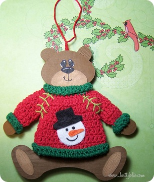 yolie bear in sweater