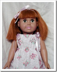 18 inch Doll Makeover