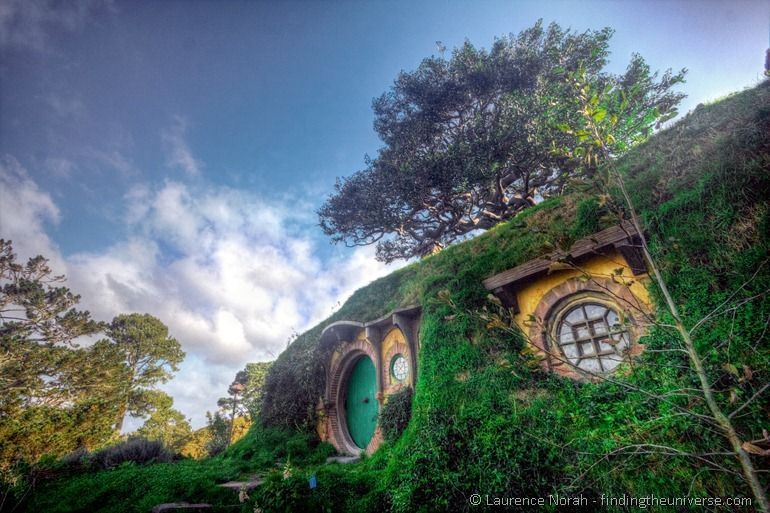 Bilbo Hobbit hole bag end hobbiton New Zealand