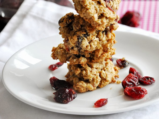 oatmeal cranberry orange pecan cookies 061