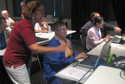 Hands-on time in our Picasa Workshop