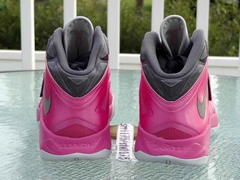 b215ee7e5436 ... Nike Zoom LeBron Soldier VII 8211 Kay Yow Think Pink ...