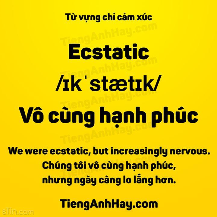 Từ Vựng Chỉ Cảm Xúc. __________________ Bạn đã có 680 mẫu câu