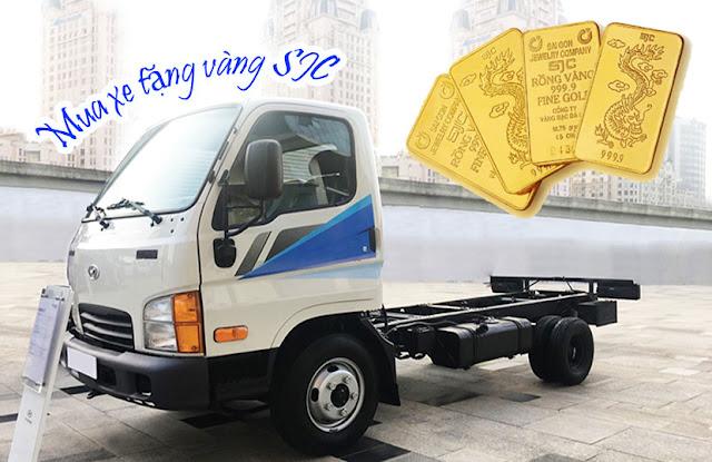 Nhiều chương trình khuyến mại dành cho xe tải Hyundai N250