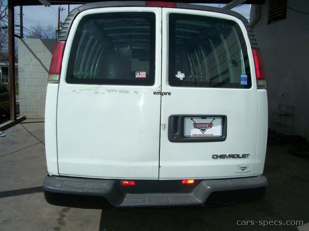 2001 chevrolet express cargo van specifications pictures prices. Black Bedroom Furniture Sets. Home Design Ideas