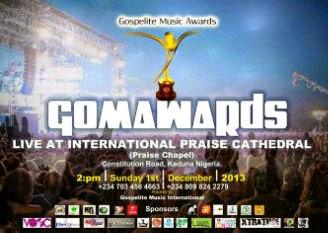 Gospelite Music Awards Kaduna 2013 Full Winners List