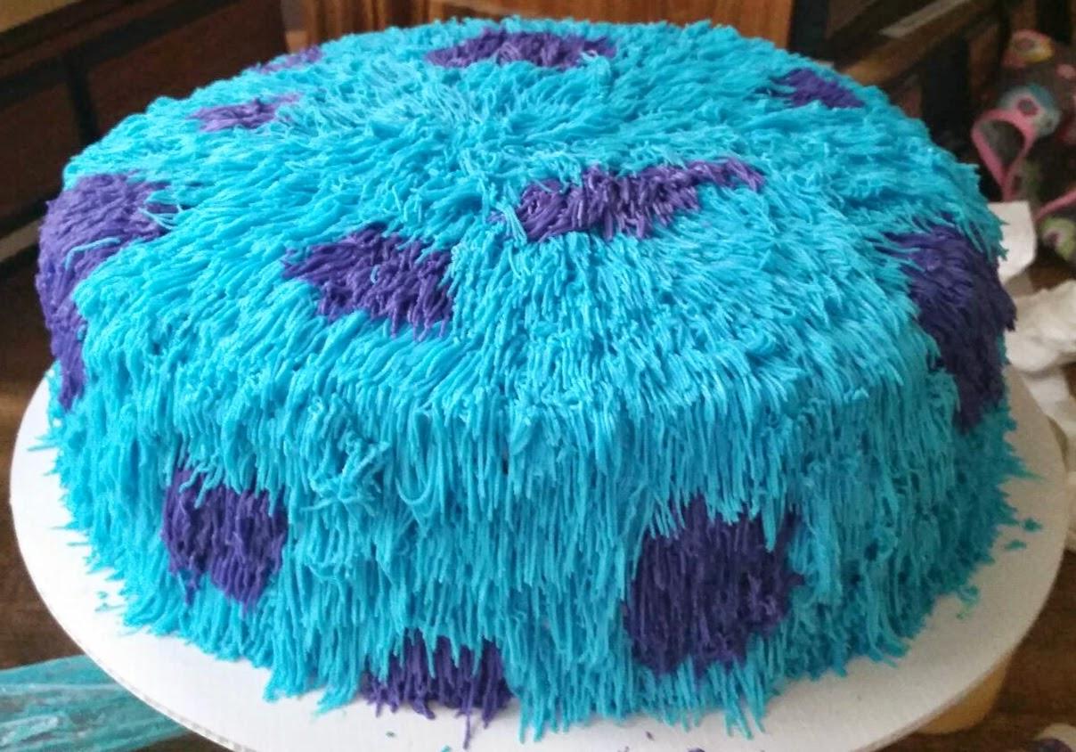 Monsters Inc Jennys Custom Cakes