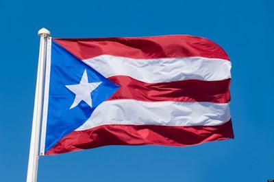 Que linda es la bandera de Puerto Rico