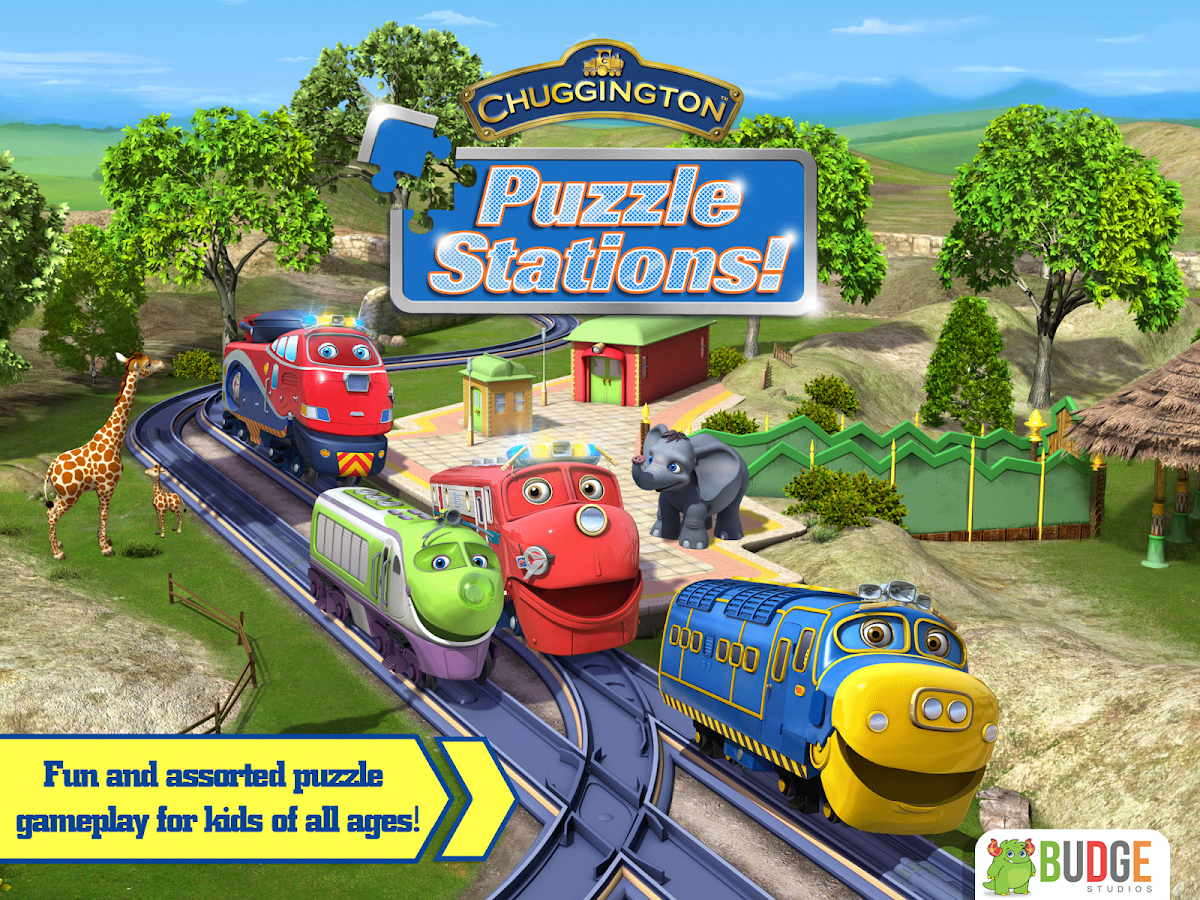 chuggington puzzle stations android apps on google play
