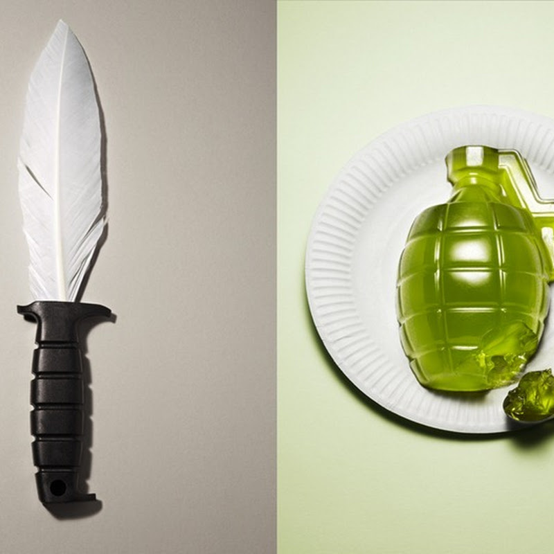 Weapons Made From Harmless Materials