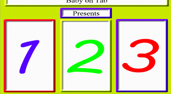 Free Baby 123 - screenshot thumbnail