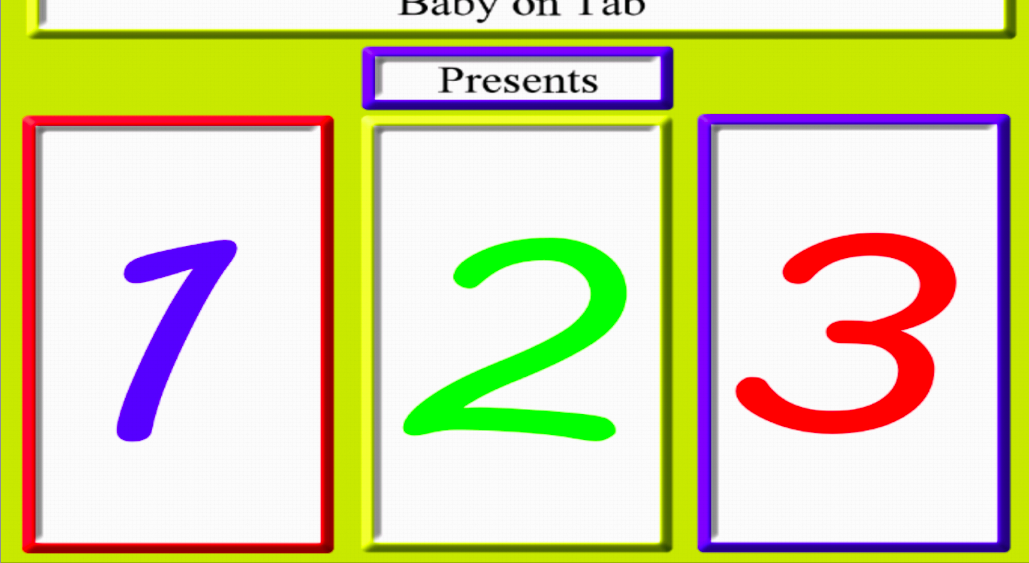 Baby 123 - screenshot