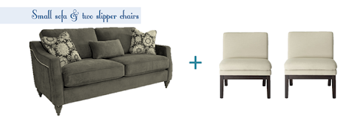 Merveilleux So, The Length Of The Sofa Is Limited. Here Are 4 Sofa And Chair Options.  All Of These Pieces Are Available In Different Colors (and Available In  Your Area, ...