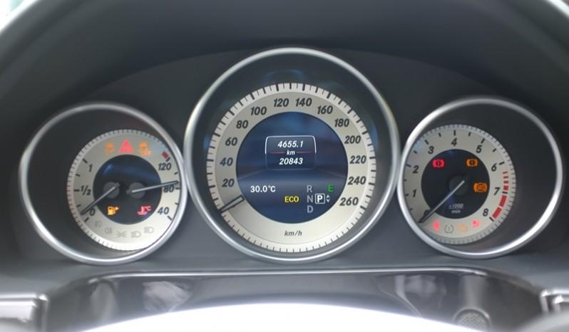 Nội thất xe Mercedes Benz E250 cũ màu xám 017