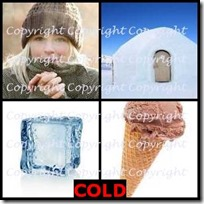 COLD- 4 Pics 1 Word Answers 3 Letters
