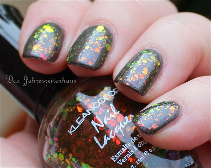 BUNT Kleancolor Chunky Holo Black 5