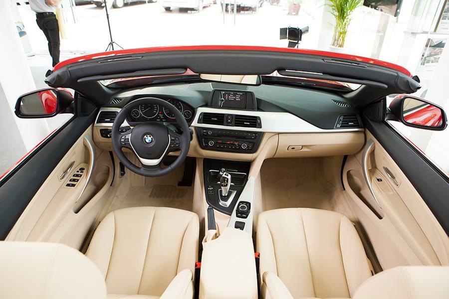 Nội thất xe BMW 428i Convertible 01