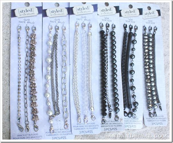 Styled by Tori Spelling Glitz and Noir bracelets