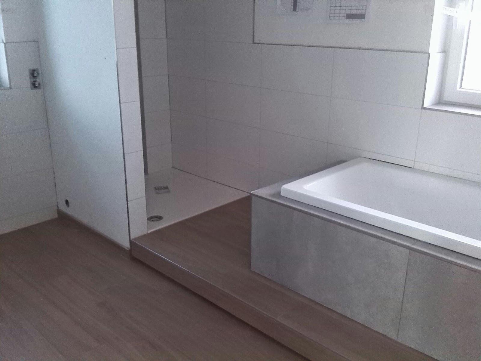 Unser Hausbau: Badezimmer