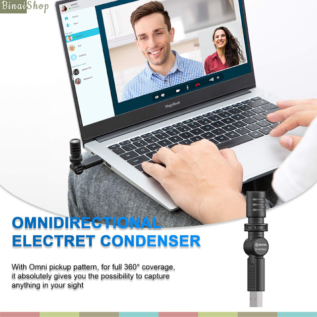 Boya BY-M100UA - Micro Condenser USB