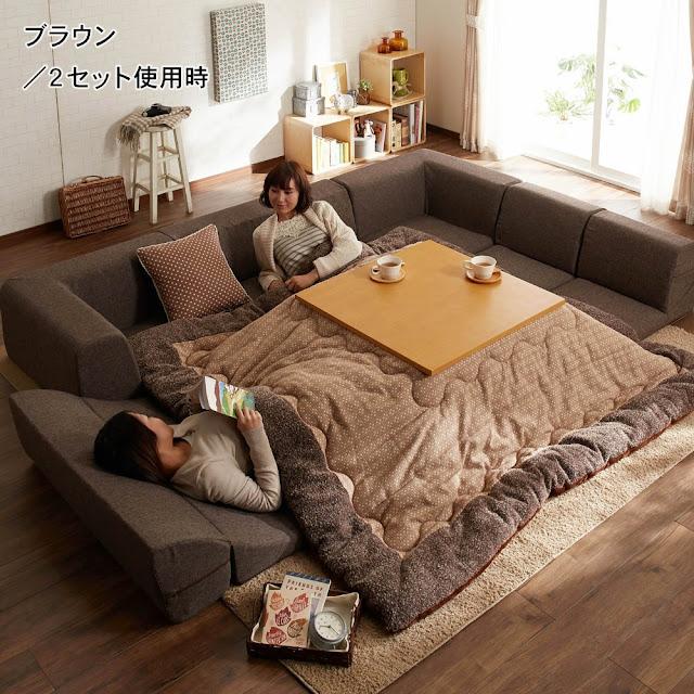 Bàn sưởi kotatsu