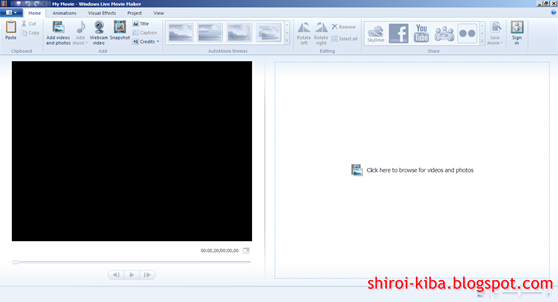 Membuat Video Menggunakan Windows Video Maker