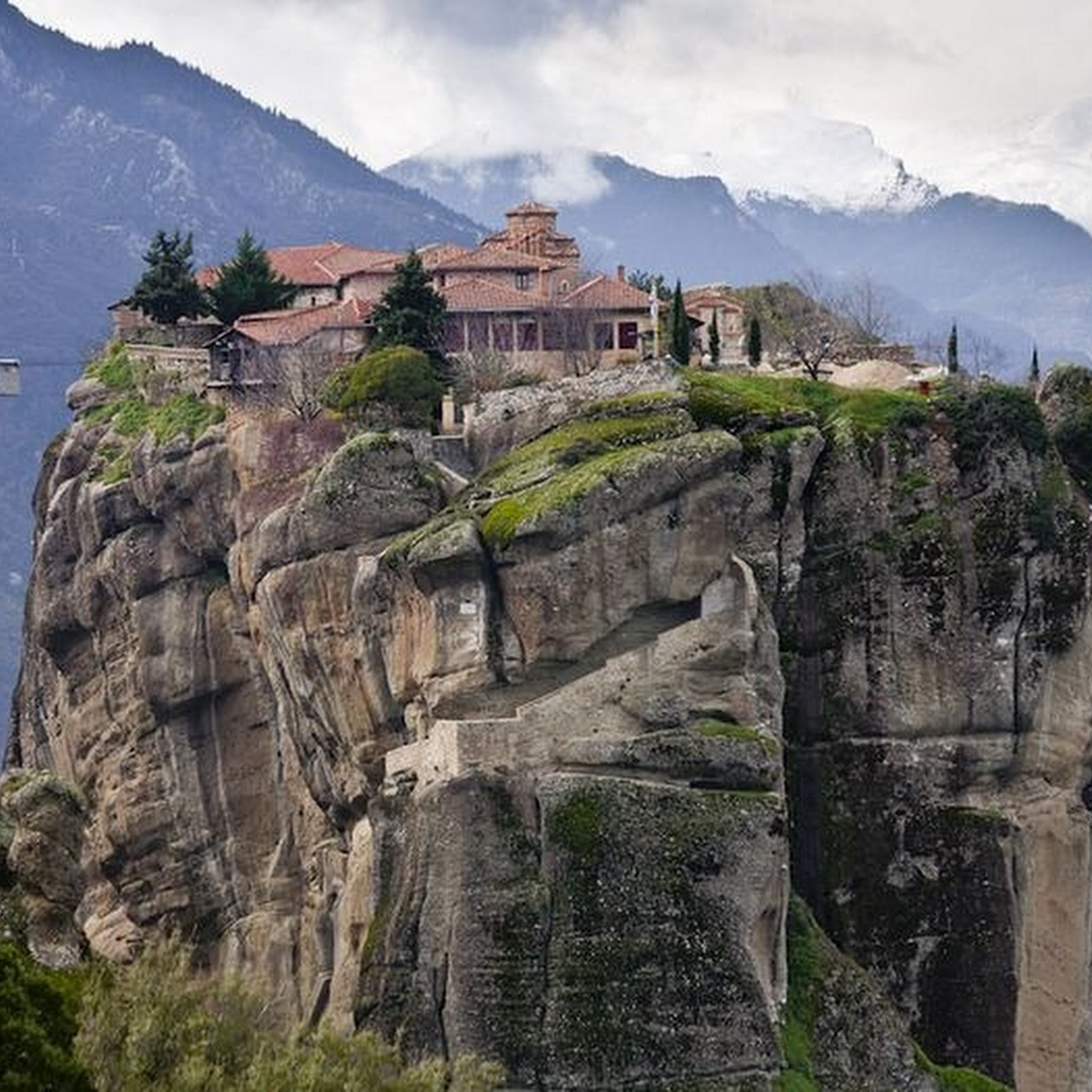 5 Most Inaccessible Monasteries in the World