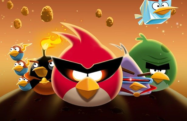 Angry Birds Space para Blackberry