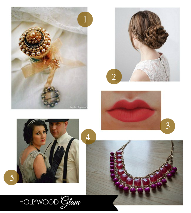 Hollywood glam featured on homework | carolynshomework.com