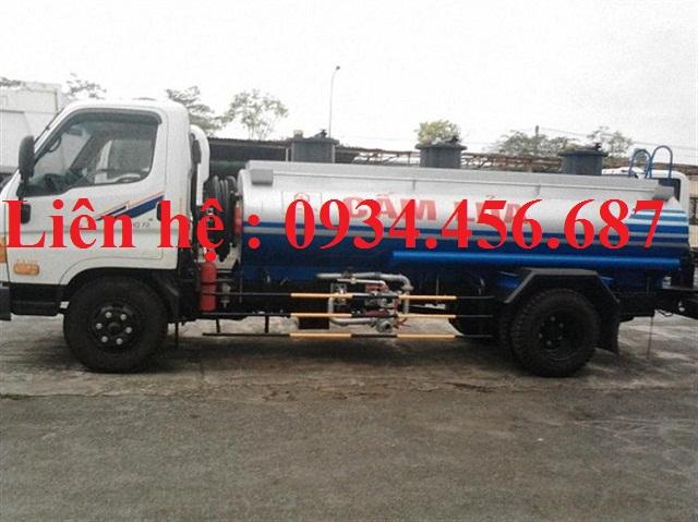 Xe xitec chở xăng dầu 9 khối Hyundai 110s