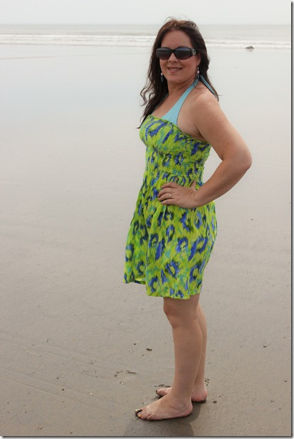 green beach dress_4367
