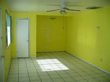cat rumah minimalis warna kuning