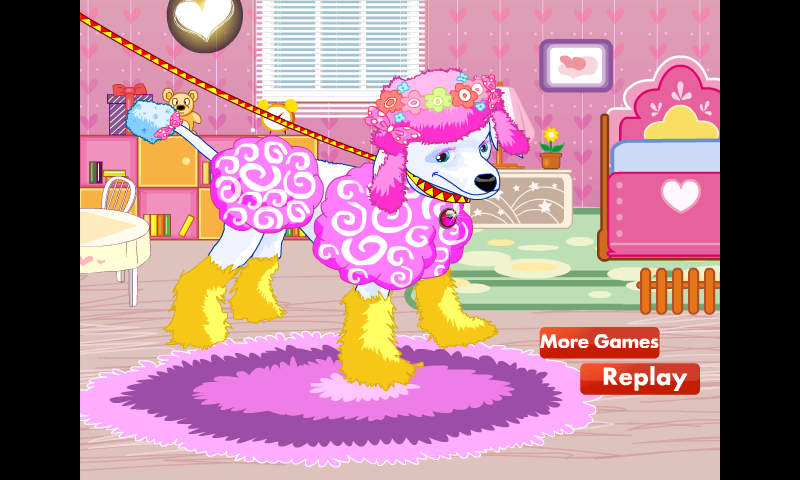 Fashion Dress Up! Cute Puppy! - screenshot