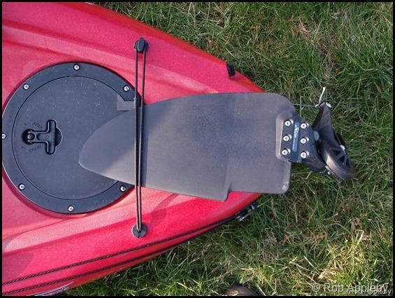 Saltwater kayak fisherman: Hobie Outback rudder upgrade