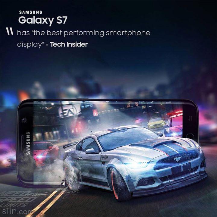 """""""#GalaxyS7 có màn hình hiển thị tốt nhất trong các smartphone hiện"""