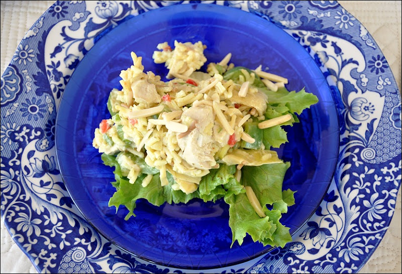 Chicken Artichoke & Rice Salad