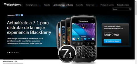 Descargar BlackBerry Messenger 7.1