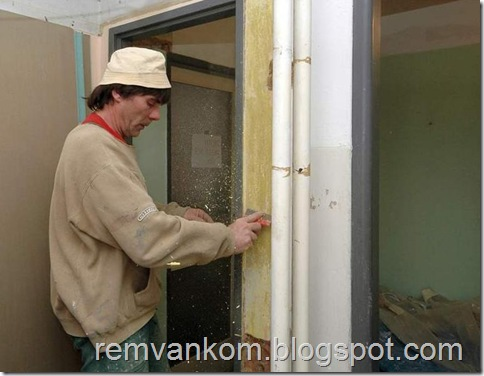 комплексной ремонт ванной комнаты 5