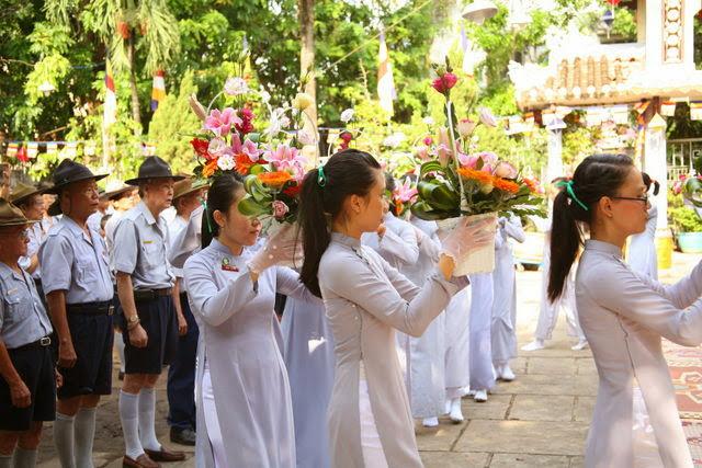 IMG 1796 Đại lễ Phật đản PL 2557 tại Tu viện Quảng Hương Già Lam