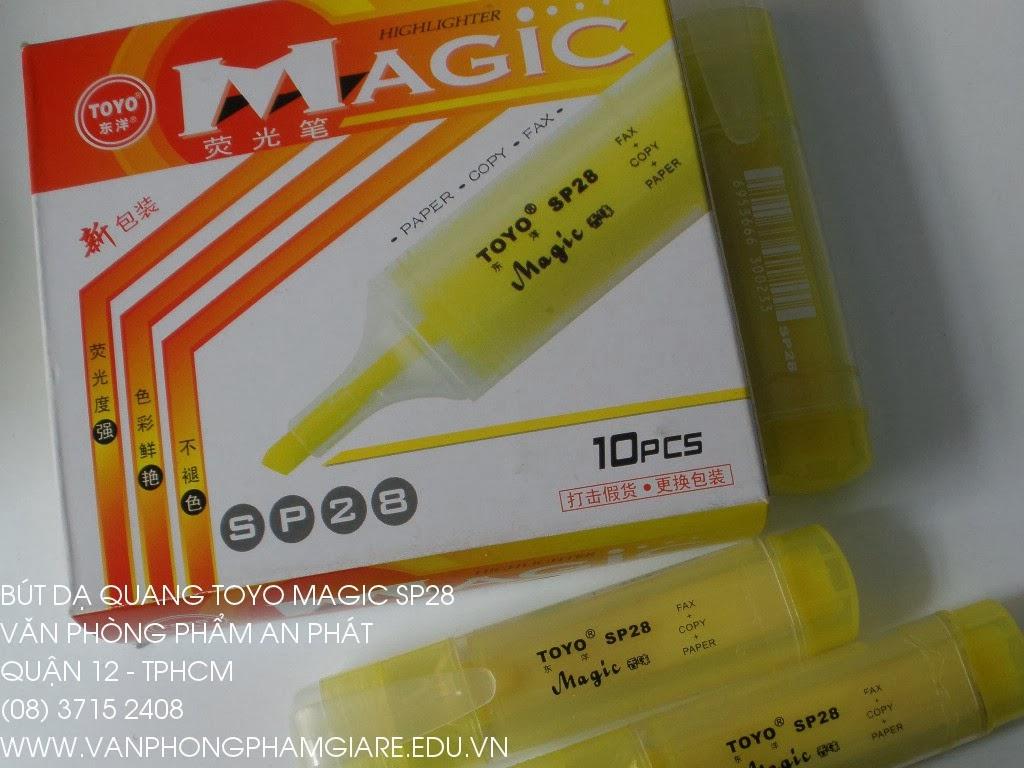 Viết dạ quang Toyo Magic SP 28