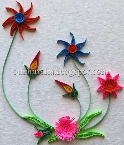 My hobbies paper quilling flowers quilling flowers 8 mightylinksfo