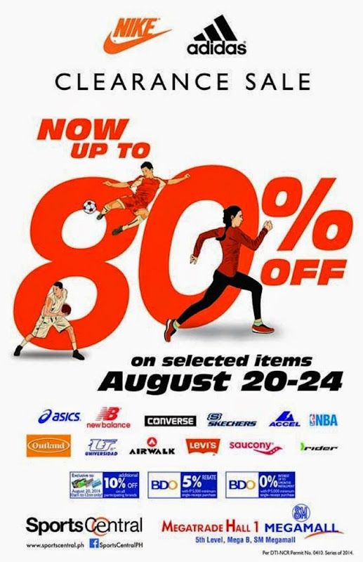 3ccddedb96c Sports Central  Nike   Adidas Clearance Sale - EDnything