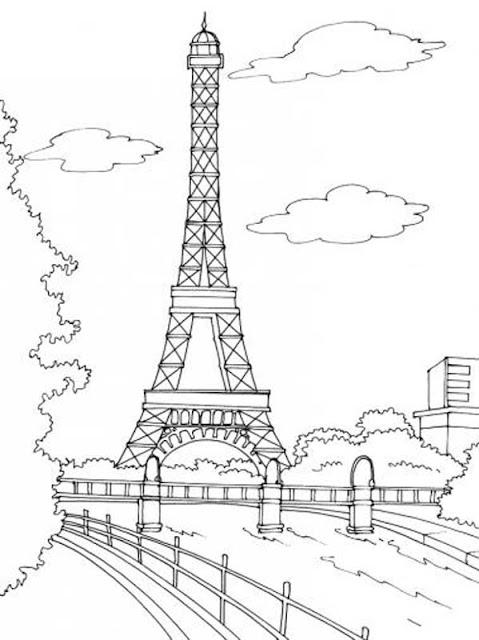 Colorear Torre Eiffel