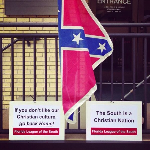 The South is a Christian nation