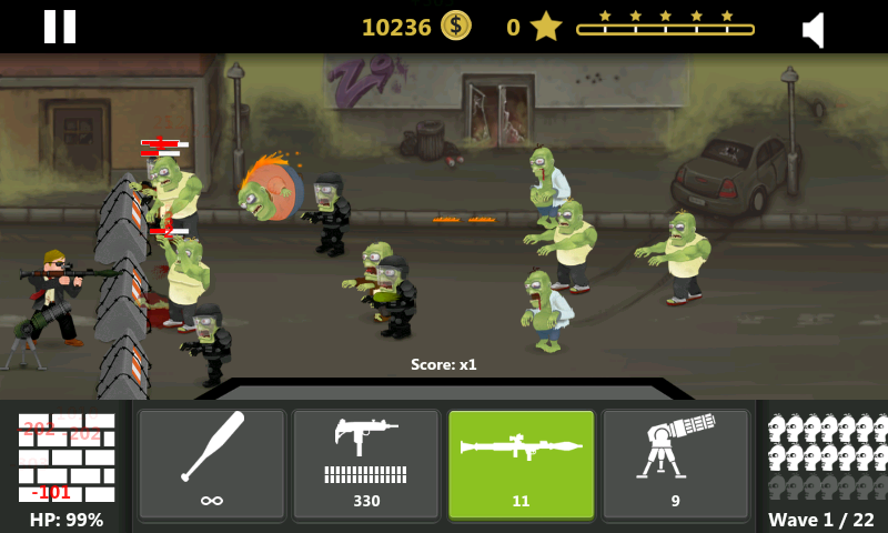 Hank: Zombie Hunter FULL - screenshot