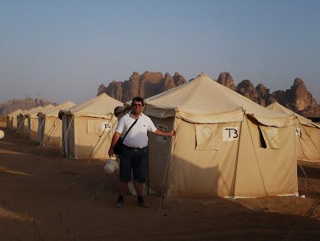 Cortul meu din Wadi Rum