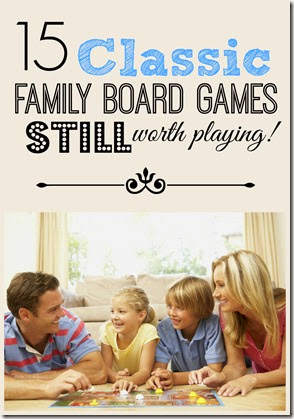 15 classic family board games still worth playing