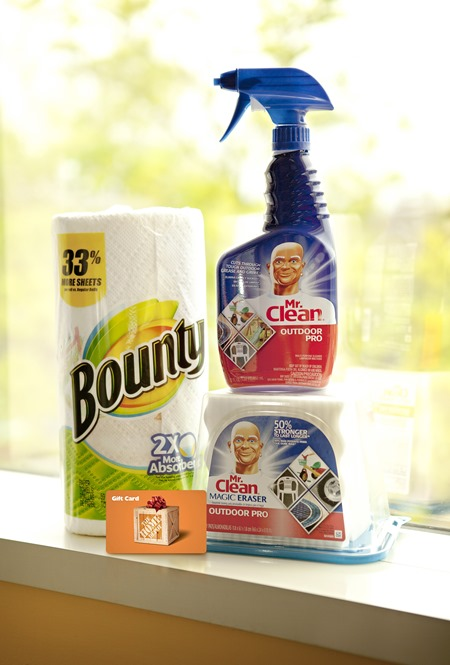 P&G THD Outdoor Cleaning Prize Pack
