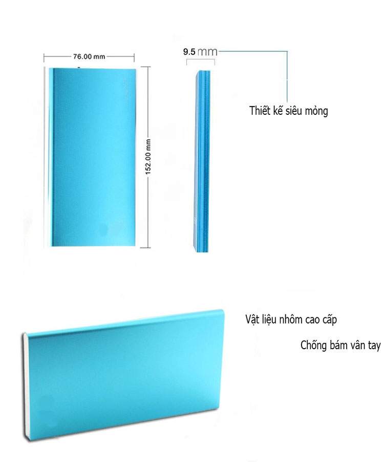 super slim 12.000 mAh