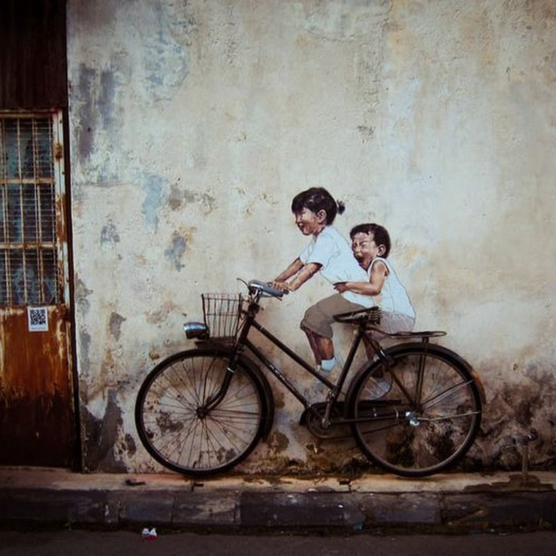 Ernest Zacharevic's Playful Street Art